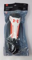 """NEW Under Armour Challenge Soccer Shin Guards Or Black / Red Size M - 5'3""""-5'7"""""""
