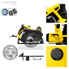 TROTEC Circular Saw PCSS 10-1400 Hand Circular Saw Multi-Purpose Cutting 1400 W