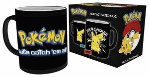 Pokemon Pikachu, Heat Changing Coffee Tea Mug MGH0008