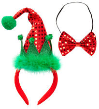 MINI elfenmütze con papillon NUOVO - Carnevale Cappello berretto copricapo