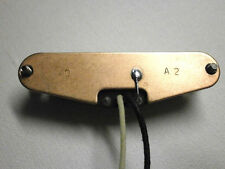 HOT Stratocaster Pickup STEEL BASEPLATE Tele FAT Strat 13.4k A2 HandWound By Q
