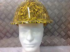 vented yellow safety Helmet hard hat rose design Builder Construction