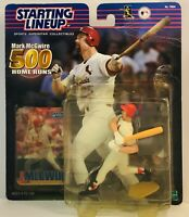 MLB STARTING LINE UP MARK McGWIRE 2000 500 HR  St. Louis Cardinals - Oakland A's