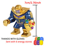 Thanos Figure Set LEGO Avengers End Game Marvel Infinity Gauntlet