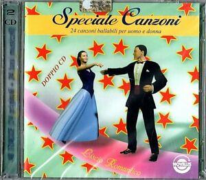 SPECIALE CANZONI  24 Canzoni Ballabili Per Uomo e Donna (Novalis) 2 CD SIGILLATO