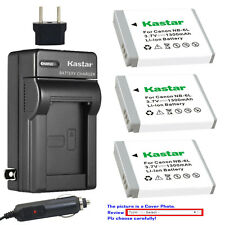 Kastar Battery AC Charger for Canon NB-6L NB6LH CB-2LY Canon PowerShot SX530 HS