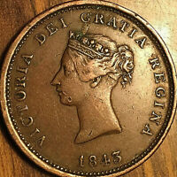 1843 NEW BRUNSWICK ONE PENNY TOKEN - Excellent example!