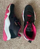 ROBERTO CAVALLI SPORT Leather & Mesh Sneaker Size UK7.5 EU41 Sports Trainers