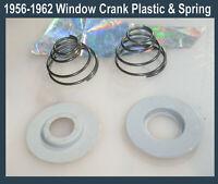 Corvette  1956 1957 1958 1959 1960 1961 1962 Door window crank spring & Plastic