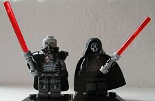 Star Clone Wars Rogue One Darth Malgus & Darth Nihilus free Lego Lightsaber