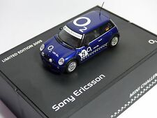 Mini Cooper One Challenge Sony Ericsson Limited Edition 2005 1/43 Neu OVP