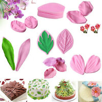 Flower Petal Silicone Fondant Cake Chocolate Decorating Sugarcraft Mould Tools