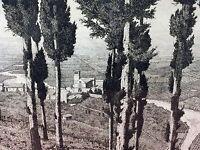 MONASTÉRE. GRAVURE. LAURENZI (LORENZO?) SIGNÉ. ITALIE(?). XIX-XX SIÉCLES