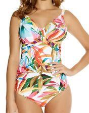 Neues AngebotFantasie Boca Chica Underwire Twist Front Swimsuit Tropical 6037 UK 32g (s11)