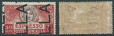 1924 SOMALIA ESPRESSO 30 B DEMONETIZZATO MH * - D5