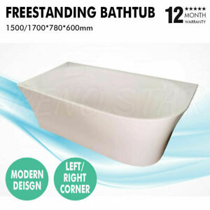 1500/1700*780*600mm Freestanding Bathtub Left Right Corner for Bathroom