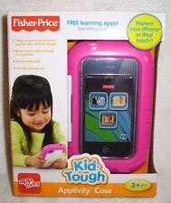 NEW Fisher-Price Kid Tough Apptivity Case Pink Toy Kids For Apple iPhone & iPod