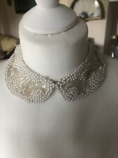 COLLETTO vintage donna in perle