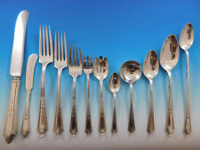 Virginia Lee by Towle Sterling Silver Flatware Set 12 Service 163 Pcs Dinner