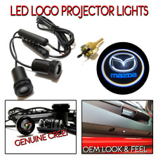 Lumenz LED Logo Projectors Ghost Shadow Lights Fits Mazda
