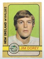 1972-73 Jim Dorey New England Whalers 339 OPC O-Pee-Chee Hockey Card P895
