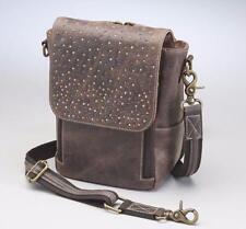 GunTotenMamas GTM/CZY-80 ConcealedCarry Handbag Brown Leather Crossbody Satchel