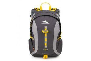 High Sierra 58440 Mercury/Ash/Yellow Computer Backpack