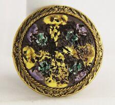 VINTAGE Jewelry ORIGINAL BY ROBERT SIGNED PENDANT BROOCH BRUTALIST MODERNIST