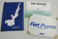 Fiat Punto 188 Betriebsanleitung Bedienungsanleitung Serviceheft 1/2001
