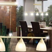 Photophore À Accrocher Lampe Pendant Or Intérieur Verre Lumière