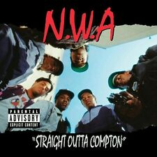 NWA Straight Outta Compton Hip Hop Album Cover Art Silk Poster 24x24inch