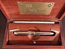 Omas Limited Edition Marconi Sterling Silver Fountain Pen