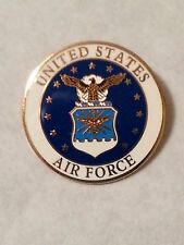 Us Air Force Shield pin Old style lapel mini pin 1/2 inch pin