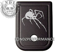 for Glock Magazine Plate 17 19 22 23 26 27 34 35 9mm 40cal Black Widow Spider