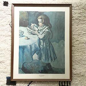 Framed Vintage Picasso Le Gourmet Print