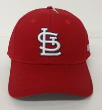 buy online 63394 610fa St. Louis Cardinals Red Adjustable Strap One Size Men s Hat
