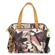 Oilily Botanic Pop S Handbag Tasche S Handtasche Damen Bunt Charcoal Neu