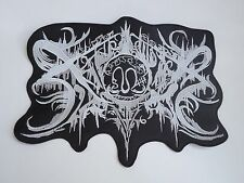 XASTHUR BLACK METAL EMBROIDERED BACK PATCH
