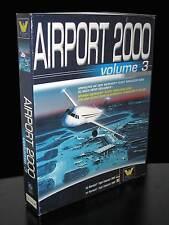 AIRPORT 2000 VOL 3 GIOCO USATO OTTIMO STATO PC PRIMA STAMPA  BOX ED ITA PG335