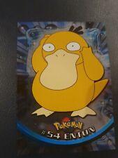 Pokemon Karte Topps #54 Enton HOLO FOIL 1999 TV Animation