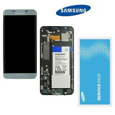 Samsung Galaxy S6 Edge Plus G928F LCD Display Silber ⫸  Original Service Ware  ⫷