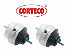 For VW Passat Audi A4 A6 Quattro Pair Set of 2 Motor Engine Mounts OEM CORTECO