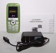 LG Rumor LX260 Green Readymobile CDMA Basic Slider QWERTY Keyboard