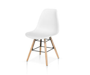 Chair Polypropylene, Structure Wood And Metal, Packaging 4 Pieces