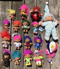 Vintage Russ Troll Dolls Lot
