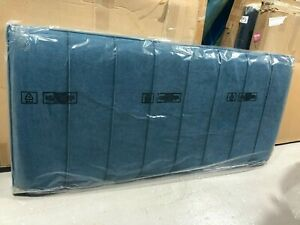 Hypnos Petra Strutted Headboard 150 CM king size 5FT Imperio Turquoise BRAND NEW