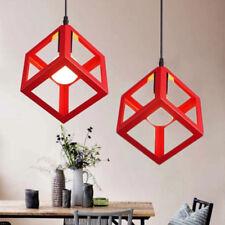 Modern Ceiling Light Red Bar Office Chandelier Lighting Kitchen LED Pendant Lamp