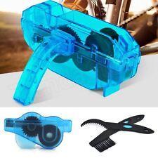 Limpiador engrasador cadenas de bici + kit cepillos limpieza cadena bici