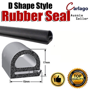 Hollow Edge Seal Trim Rubber For Car Door Trunk, Equipment,Home Applications 10M