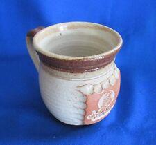 Vintage Souvenir Pottery Mug  Ozark Mountain Country Studio B Pottery Branson MO